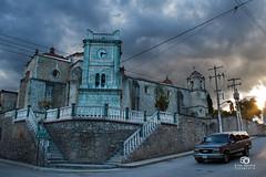 Templo de Santo Toms, y Reloj (Kios Photography) Tags: naturaleza nature oaxaca sierrajuarez fotografo ecoturismo sierranorte ixtlan ixtlandejuarez ecoturixtlan kiosgarcia kiosphotography
