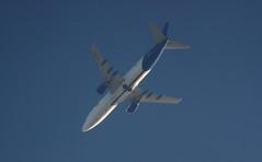 G-JMCZ (Rob390029) Tags: blue sky west flying top aviation transport flight over atlantic transportation boeing airlines overhead ott 737 freighter gjmcz