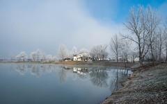 lake Zajarki (084) - misty morning (Vlado Ferenčić) Tags: fog foggy foggymorning mistymorning misty lakes lakezajarki zajarki zaprešić sky cloudy clouds croatia hrvatska nikond600 nikkor173528