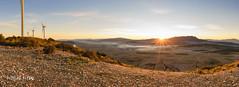 Amanecer desde el Buey 2 (Pascual Mateo) Tags: jumilla paisaje parqueeolico sierra del buey