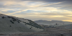 All that might have been is covered in frost (OR_U) Tags: 2016 oru uk scotland winter landscape panorama driving hills sunset frost cold clouds sky