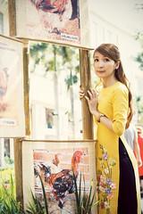 _MG_9843 (Trang Angels) Tags: woman asia model ao dai canon portrait eos
