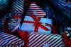Christmas Presents (cuppyuppycake) Tags: christmas presents nikon d7200 holidays wrapping paper snowflake stripes candycane bow ribbon