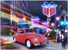 Volkswagen Beetle 1963 (@Britney Beyonce) Tags: volkswagen beetle worldcar automobile auto classiccar christmas photoshop pixabay worldcars