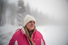 sunday-3086 (FarFlungTravels) Tags: winter ski skiing laurelhighlands pennsylvania reservoir morning sunrise foggy snow squall