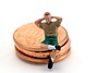 AD8A0404_p_g (thebiblioholic) Tags: tiny miniature penny coin closeup lensbaby velvet56 kenko kenko20 365 tumblr