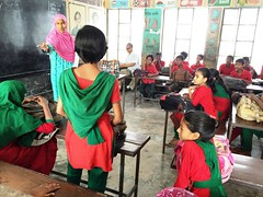 Beenapani General Primary School (Global Partnership for Education - GPE) Tags: globalpartnershipforeducation gpe education educationinbangladesh bangladesh younggirls girlseducation students