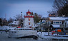 Icebound (Jacqui1224) Tags: buildings channel december harbour ice boat lighthouse pfccdec2016 snow