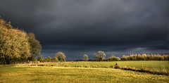 Stormy Skies at Rollright (tdcphotos) Tags: fence field grass posts rollright sky stormclouds stormy trees