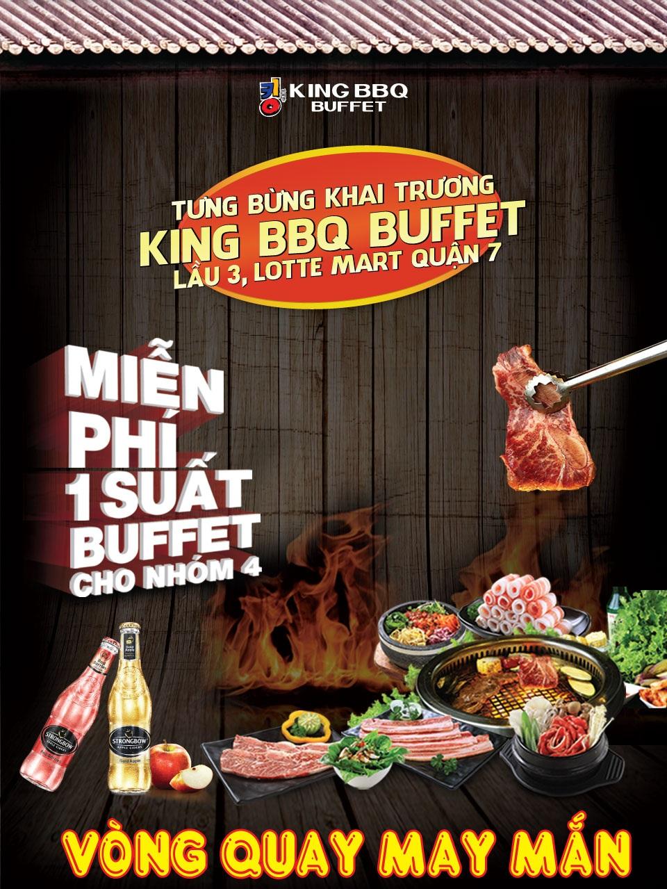 Khai trương King BBQ Buffet Lotte Mart BUFFET