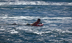 """In the sea (*Millie* """"Catching up slowly"""") Tags: kickboard people boy beach sea waves water blue outdoor candid amateurphotography canon rebelt6i eos t6i colorful efs55250mmf456isstm"""