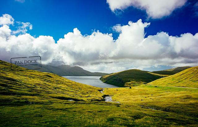 The road to Vestmanna - Faroe Islands