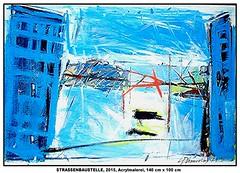 STRASSENBAUSTELLE 1 (CHRISTIAN DAMERIUS - KUNSTGALERIE HAMBURG) Tags: berlin rot hamburg felder galerie christian baustelle gelb grün blau hafen bäume schwarz elbe bilder landschaften häuser norddeutsche malerei norddeutschland weis kunstgalerie virtuelle hafenhamburg büsche galerien acrylbild mieten acrylmalerei onlinegalerie auftragskunst kunstdrucke auftragsmalerei bilderwerk auftragsbilder asklepioskliniken leasen galeriehamburg auftragsmalereihamburg damerius hamburgerkünstler malereihamburg christiandamerius bilderleasing galerieninhamburg acrylmalereihamburg kunstgalerienhamburg