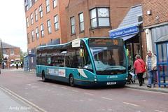Arriva Midlands 2950 YJ61CHN (Andy4014) Tags: bus versa midlands 5a arriva melton mowbray optare 2950 thurmaston yj61chn