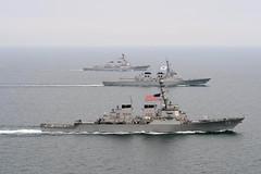 U.S. and Republic of Korea navy ships participate in Foal Eagle. (LockheedMartin19) Tags: ussjohnsmccain ussmccampbell koreanpeninsula foaleagle2013