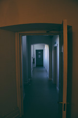Hallway (JacksonSwaby) Tags: door light window hall open interior corridor hallway