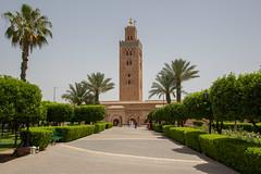 Mosque de la Koutoubia (Danil den Toom) Tags: mosque morocco bahia marrakech palais souk medina souks marokko koutoubia moskee jemaa djemaa benyoussef    mdersa elfnaa