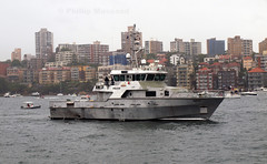 Nemisis 2 (PhillMono) Tags: new water rain wales grey boat rat ship force harbour south sydney january police overcast australia olympus celebration dslr powerful patrol e30 intimidating 2015 nemisis