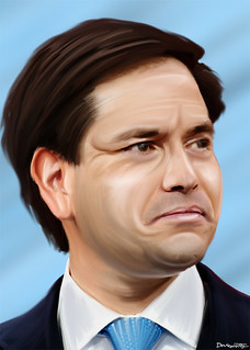 From flickr.com/photos/47422005@N04/19417581858/: Marco Rubio - Painting