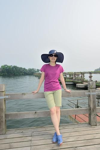 老婆在千岛湖