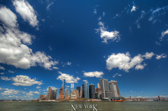 New York Skyline, NY, USA (Stewart Leiwakabessy) Tags: city nyc newyorkcity travel vacation usa holiday ny newyork buildings us holidays skyscrapers unitedstates manhattan unitedstatesofamerica saturation highrise hudsonriver traveling bigapple hdr highdynamicrange multiexposure vacationing thebigapple citytrip photomatix bracketed tonemapped murica nyc2015 newyorkcity2015