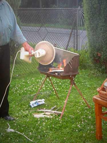 Barbecue, Tuchow, Pologne
