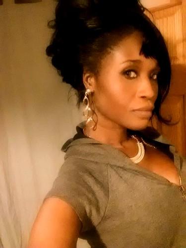 Selfie of Sabine :-)