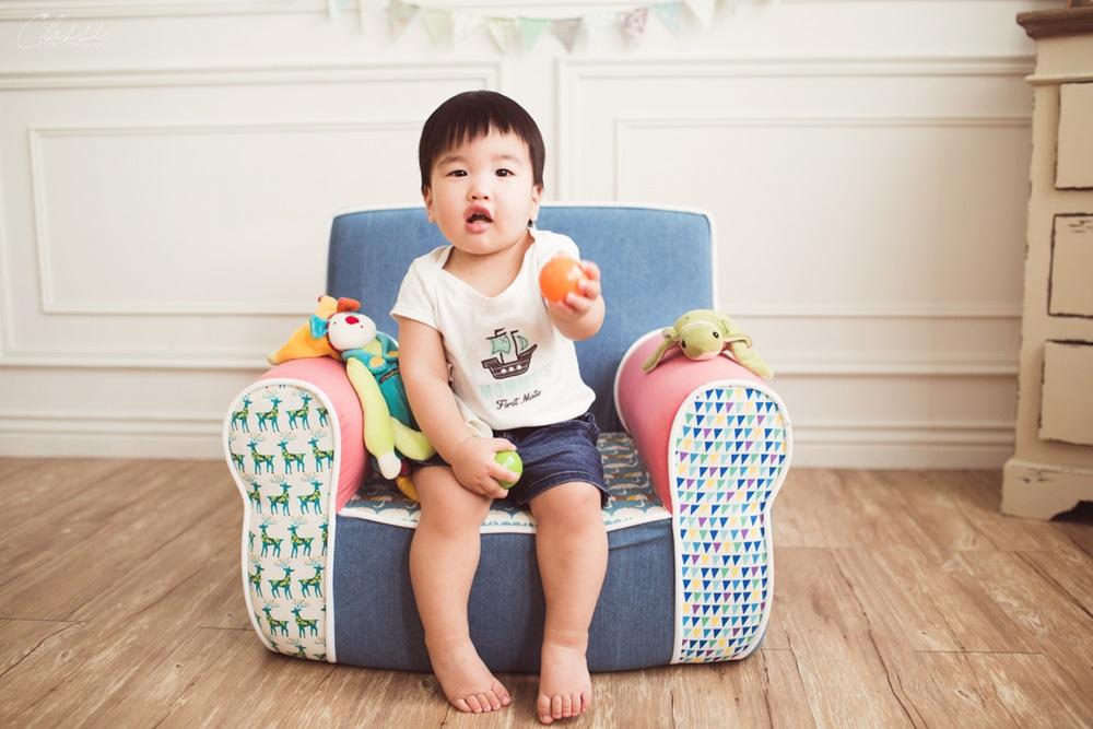 兔子跳跳兒童沙發