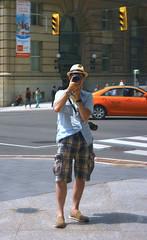 I shot myself again (Mr.  Mark) Tags: camera portrait toronto reflection building me self pose mirror photo downtown stock selfie markboucher oldmanshorts nothingwrongwitholdmanshorts oroldmen