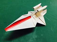 Republic Star Destroyer origami prototype (Matayado-titi) Tags: