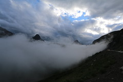 Smoke Rising Over the Glaciers (bbosica20) Tags: storm fog glaciernationalpark stormclouds glaciernp absolutelystunningscapes
