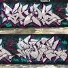 Grab / Rekal chrome joints (GrabFDC) Tags: graff spraypaint character alligator letters silvers chrome rekal grab miami graffiti fdc fdccrew