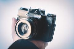 Moshva '80 (Prestonbot) Tags: moscow moshva soviet russian zenit zenitem helios442 helios44m kmz mmz vintagecamera camera cameragear filmcamera filmslr olympics