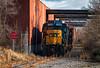 West Side Service (Wheelnrail) Tags: csx csxt dayton local y102 emd gp30 rdslug gp402 boxcar industry spur customer rail road railroad railway train trains