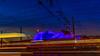 ...durch die blaue Nacht? (Renate Bomm) Tags: reiterdenkmal hohenzollernbrücke bahnhof colonia cologne köln musicaldome blaueszelt renatebomm canoneos6d 1224mm db deutsche bahn schienen blue blau zelt ngc flickrunitedaward project365 2017