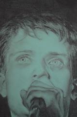 Ian Curtis portrait (Claudia De Facci) Tags: ritratto portrait art arte carboncino charcoaldrawing disegno iancurtis joydivision musica music artist artista