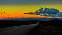 Sunset; South Rim Drive  ( in Explore ) (blacky_hs) Tags: sunset canyon de chelly national monument arizona chinle navajo