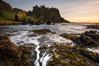 Dunluce Castle (explored)
