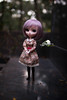 New Dress (dreamdust2022) Tags: grape cute loving love sweet darling hug cuddles tender innocent smart playful pretty pure heart young virgin mother pullip doll poison girl trisquette