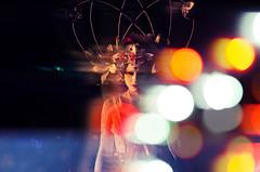 May Queen blur (elizunseelie) Tags: beltane beltane2016 2016 night portrait people woman fairy lights fairylights pagan paganism edinburgh calton hill scotland scottish tradition spring summer festival pentax k5 tamron hipstamatic fashion blur colourful may queen crown costume intense