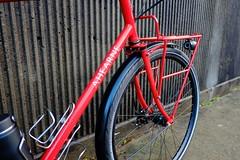 Front rack & Fender (Ahearne Cycles) Tags: pinion gearbox 18speed custom bike commuterbike touringbike customrack