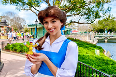 Belle (disneylori) Tags: belle beautyandthebeast disneyprincess princess disneycharacters facecharacters meetandgreetcharacters characters france worldshowcase epcot waltdisneyworld disneyworld wdw disney