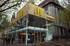 McDonald's, Rotterdam, Netherlands. (廖法蘭克) Tags: rotterdam netherlands mcdonalds mostbeautiful most beautiful food restaurant ricoh gr frank photographer businesstrip onsite work