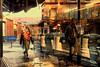 Streetcafé Version I (johann walter bantz) Tags: europe france 93 banlieueparisienne colorful everydayeverywhere xf23mmf14r xpro2 fujifilm color reflet bar café street