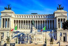 Monument of Victor Emmanuel II - Rome, Italy (mikederrico69) Tags: italia italy italian rome monument victor emmanuel ii building landmark marble colons travel europe vacation visit summer