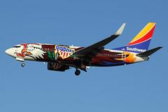 "N918WN | Boeing 737-7H4/W | Southwest Airlines ""Illinois One"" (cv880m) Tags: newyork laguardia lga klga queens n918wn boeing 737 737700 73g 7377h4 winglet southwest swa southwestairlines illinois illinoisone eagle"