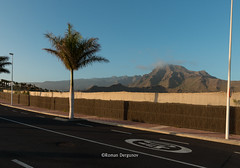 Don't hurry, enjoy landscape. Costa Adeje, Tenerife.