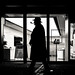 """Day 114/365_Pipe (Frédéric Cottens - Photographie """"brute"""") Tags: pipe basel switzerland fuji fujifilm xt2 street streetsofmine streetphotography bw photographiebrute picoftheday kontrast silhouette"""