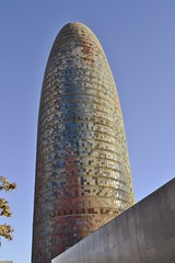 TORRE GLÒRIES (abans TORRE AGBAR) (Yeagov_Cat) Tags: 2005 2017 agbar avingudadiagonal b270 barcelona catalunya diagonal jeannouvel torre torreagbar torreglòries glòries