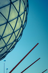 Globe (Raggedjack1) Tags: sevilla expo steel seville globe spain